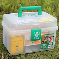 (26 * 17 * 18) Plastic Environmental Medicine Storage Tool Boxes