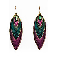 Earring Drop Earrings Jewelry Women Party / Daily / Casual Alloy / Enamel