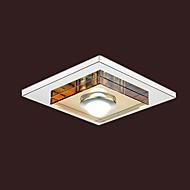 Umei ™ 3W LED âmbar luz de teto de cristal, uma luz, montagem embutida