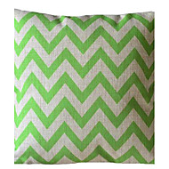 Ever Green Wave Stripe Dekorative Pillow med Insert