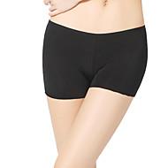 Dancewear Women's Simple Viscose Solid Color Undergarments