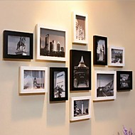 "Picture Frames Modern/Contemporary Rectangular Others,Wood 11 8"" x 10"""