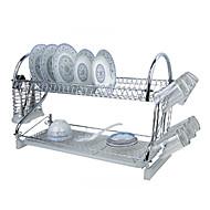 "1 Kitchen Kitchen Stainless Steel / Plastic Rack & Holder W59cm x L24cm x H40cm(W23.6"" x L9.6"" x H16"")"