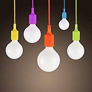 sl® 미니 펜던트, 1 등, 현대적인 미니멀 한 실리콘 사탕 색상