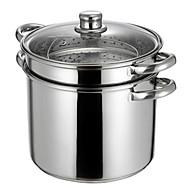 9.5 QT Stainless-steel Multi-pots,Dia 24cm x H20cm