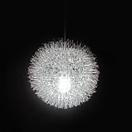 גלוב תליון, 1 ציור מתכת אור, מודרני