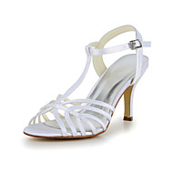 Women's Wedding Shoes Heels/T-Strap Sandals Wedding/Party & Evening Black/Blue/Purple/Red/White/Silver/Gold/Champagne/Beige