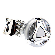 Silver volante del coche pomo giratorio plegable Fácil montaje