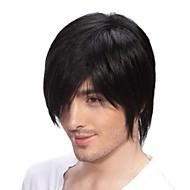 של למעלה כיתה איכות גברים שיער אדם פאות 4 צבעים לבחירה