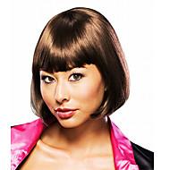 Fancy Ball-Synthetic-Partei-Perücke Elegante Damen kurze glatte Perücke (Ash Blonde)