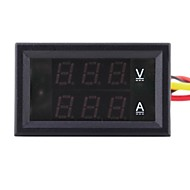 DC 4.5-30V 0-10A Dual LED Digital Volt Meter Ammeter Voltage AMP Power