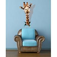 3D TheGiraffe Wandaufkleber Wandaufkleber