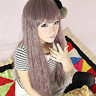 Harajuku Style Cosplay Synthetic Wig Lolita Charming Curly Straight Long Wig(Dust)