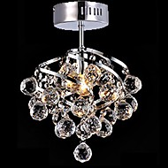 5 Modern/Contemporary / Traditional/Classic / Country Crystal / LED / Bulb Included Chrome Crystal Chandeliers / Pendant Lights
