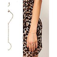shixin® 18cm Frauen Elfenbein Imitation Perle Bettelarmband (1 PC)