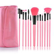 Make-up For You® 12pcs Makeup Brushes set Professional/Limits bacteria Pink blush brush eyeshadow/brow/eyeliner/eyebrow brush cosmetic brushes