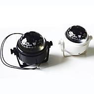 Tengeri műanyag Compass állvánnyal és Hajó Caravan Truck 12V-os LED ZW-550--Black/White