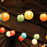 10pcs solaires chinois Party Lights Lantern cordes