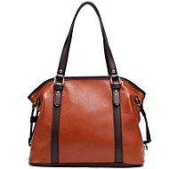 Women's First Layer Cowhide Leather Casual Style Totes/Shoulder Bag,Handbag