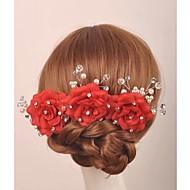 Schuim Vrouwen Helm Bruiloft/Speciale gelegenheden/Casual/Outdoor Bloemen Bruiloft/Speciale gelegenheden/Casual/Outdoor