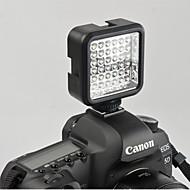wansen 36 LED videolámpa lámpa 4W 160lm Nikon Canon DV videokamera kamera töltő