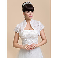 Wedding / Party/Evening / Casual Chiffon Coats/Jackets Short Sleeve Wedding  Wraps