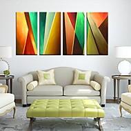 Canvastaulu taide Abstrakti Color osainen sarja 4