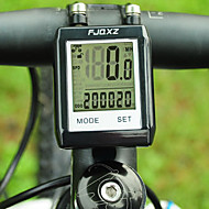 FJQXZ Waterproof Wireless LCD Black Bicycle Speedometer/Stopwatch