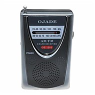 OJADE OE-1201 Mini Přenosné AM / FM 2-Band Radio