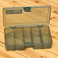 210 * 118 * 45mm Armata verde Fishing Box Tackle Box
