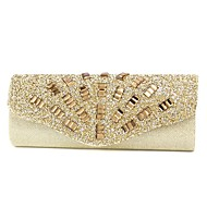 Satin Wedding / Special Occasion Clutches / Evening Handbags with Rhinestones (More Colors)