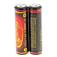 TrustFire 3000mAh 18650 Baterie (2 ks) s Ochrana před přebíjením