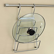 Pot Clip Storage Rack  with 24 Inch Hanging Rod