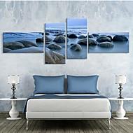 Canvas Art Rock Patch Set of 4