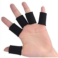 0605 Multisport Finger Sleeves pour Gym Fitness / Basket / Volley-ball - Noir (10-Piece-Pack)