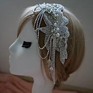 Bergkristal Vrouwen Helm Bruiloft/Speciale gelegenheden Hoofdbanden Bruiloft/Speciale gelegenheden