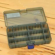 186 * 103 * 34MM Armata verde Fishing Box Tackle Box