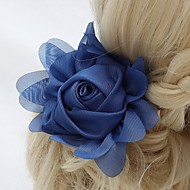 Women's/Flower Girl's Chiffon Headpiece - Wedding/Special Occasion/Outdoor Flowers