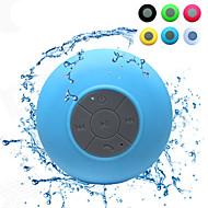 Mini Ultra Portable Waterproof IPX 4 Stereo Wireless Bluetooth Speaker (Blue)