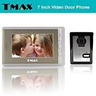 """tmax® 7 """"video dørtelefon dørklokken intercom-system med 500tvl nattesyn kamera"""