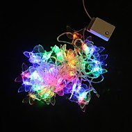 5M 40-LED Multicolor Butterfly Light String Wedding Party Kerst Lamp (AC 220 V)