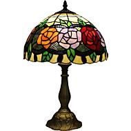 טיפאני עלה D12067T מנורה שליד המיטה בחדר השינה