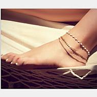 shixin® de mode perle shinning or cheville (1 pc)