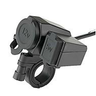 12v-24v vodootporan motocikl uvijeni usb mobilni telefon mobitel punjač