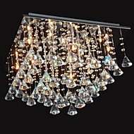 20 Chandelier ,  Traditional/Classic Chrome Feature for Crystal Metal Living Room Bedroom Dining Room