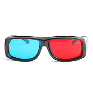M&K High Definition Red Blue Myopia Clamping Piece Suits of 3D Glasses for Computer and TV (3Pcs)