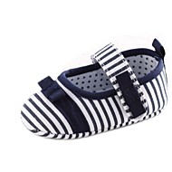 Cotton Girl's Flat Heel Round Toe and Mary Jane Flats with Bowknot Shoes (More Colors)
