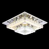12W Flush Mount ,  Modern/Contemporary / Traditional/Classic / Country Chrome Feature for Crystal / LED / Mini Style MetalLiving Room /