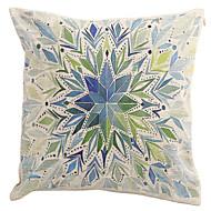 "Createforlife ® 18 ""Cuscino Watercolor Art Kaleidoscope decorativa Cotone Lino Piazza federa"