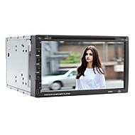"6.95"" 2 Din Universal Car DVD Player with Bluetooth/USB,SD/DVD/FM/ATV/IPOD/RDS/Microphone/GPS"